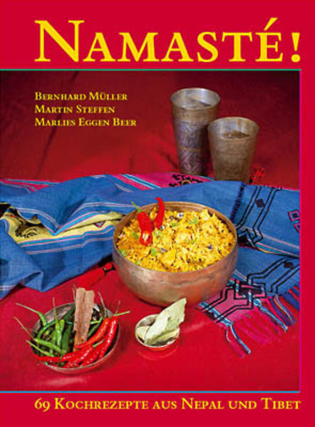 Namasté - 65 Kochrezepte aus Nepal und Tibet - Coverbild