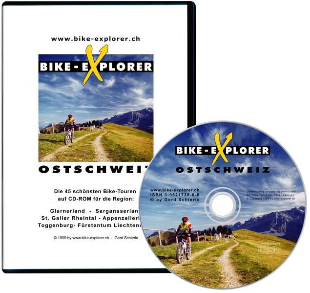 Bike-Explorer Ostschweiz - Coverbild