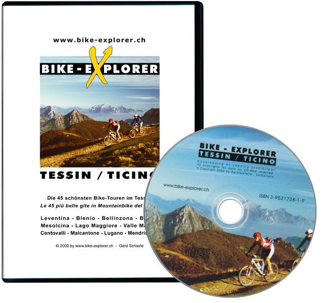 Bike-Explorer Tessin /Ticino - Coverbild