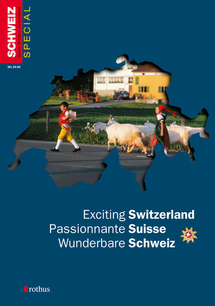 Wunderbare Schweiz /Exciting Switzerland /Passionnante Suisse - Coverbild