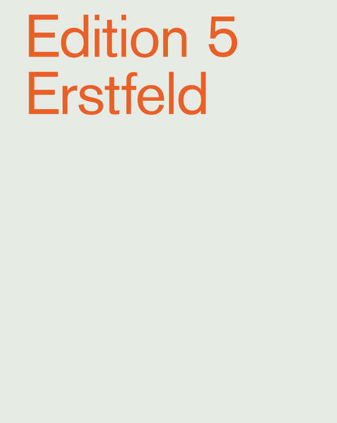 Edition 5 Erstfeld - Coverbild