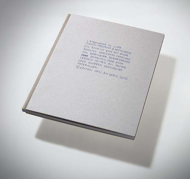 L'Emergence du livre - Coverbild