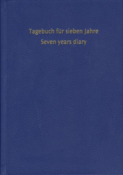 Tagebuch für sieben Jahre - Coverbild