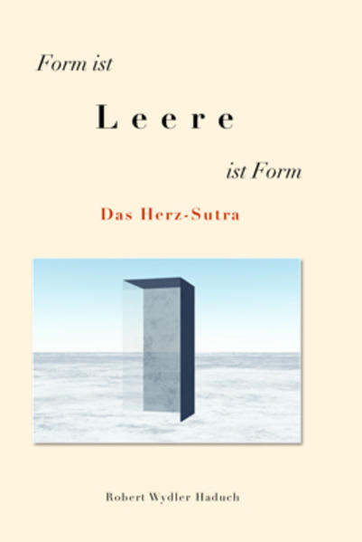Form ist Leere ist Form - Coverbild