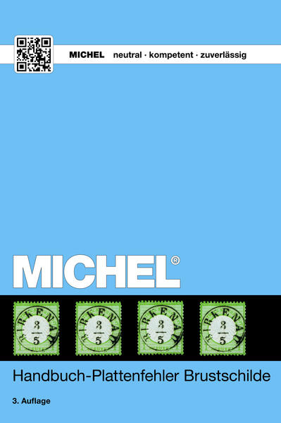 MICHEL Handbuch Plattenfehler auf den Brustschild-Marken - Coverbild