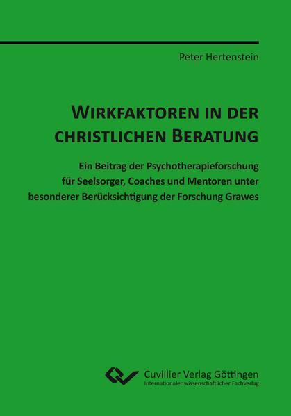 WIRKFAKTOREN IN DER CHRISTLICHEN BERATUNG - Coverbild