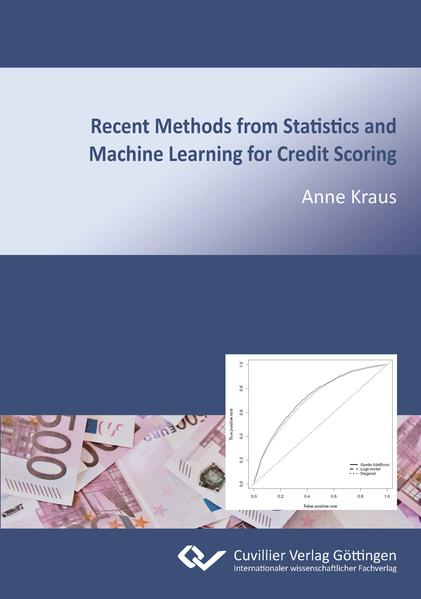 Recent Methods from Statistics and Machine Learning for Credit Scoring - Coverbild