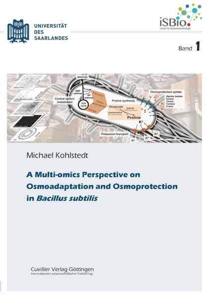 A Multi-omics Perspective on Osmoadaptation and Osmoprotection in Bacillus subtilis - Coverbild
