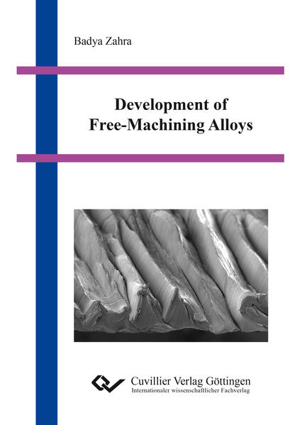 Development of Free-Machining Alloys - Coverbild