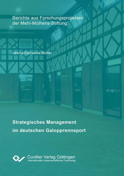 Strategisches Management im deutschen Galopprennsport  - Coverbild