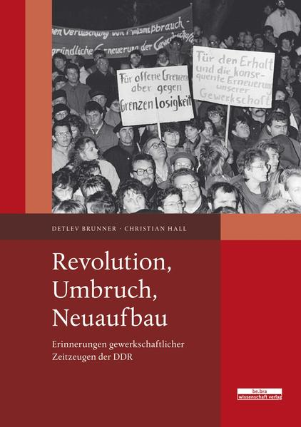 Revolution, Umbruch, Neuaufbau - Coverbild