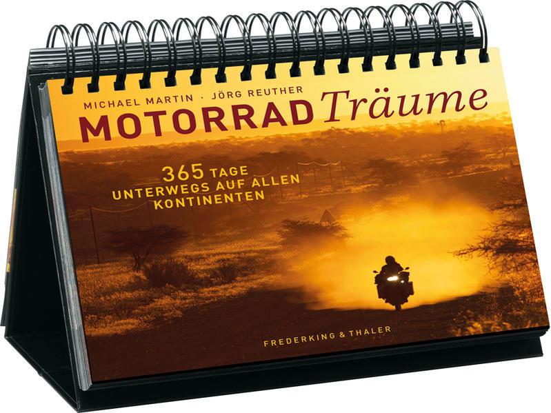 Tischaufsteller – Motorradträume - Coverbild