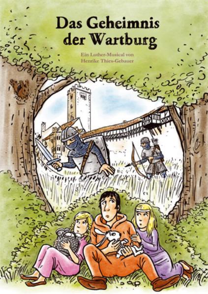 Das Geheimnis der Wartburg (Chorpartitur) - Coverbild