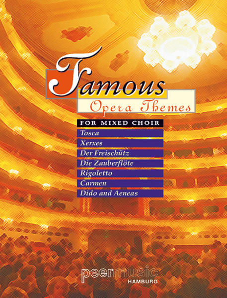 Famous Opera Themes For Mixed Choir - Coverbild
