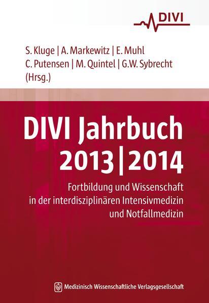 DIVI Jahrbuch 2013/2014 - Coverbild