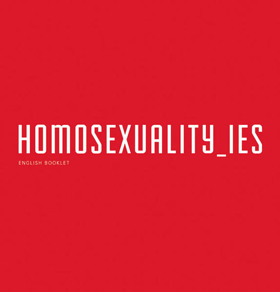 Homosexuality_ies - Coverbild