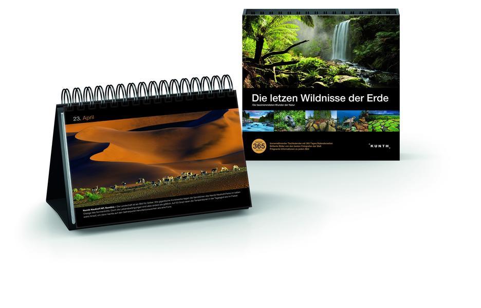 Die letzten Wildnisse der Erde Tischkalender - Coverbild