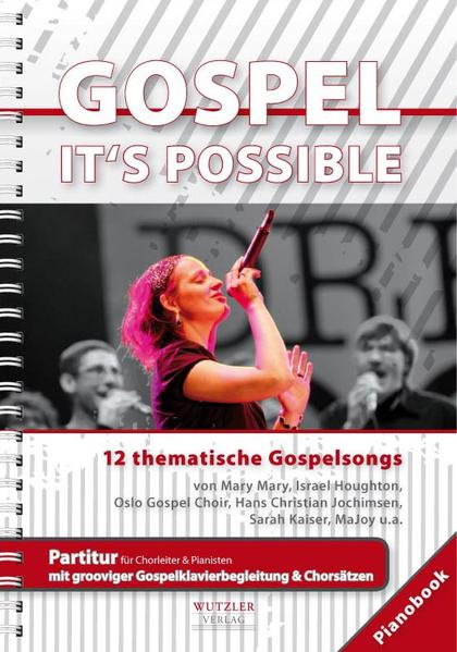 GOSPEL It's possible - Pianobook - Coverbild
