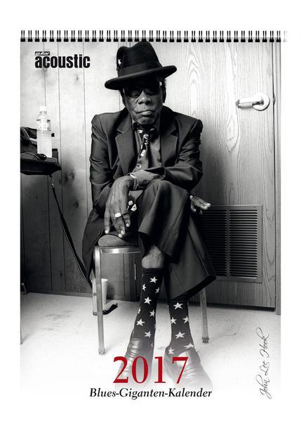 guitar acoustic Blues-Kalender 2017 - Coverbild