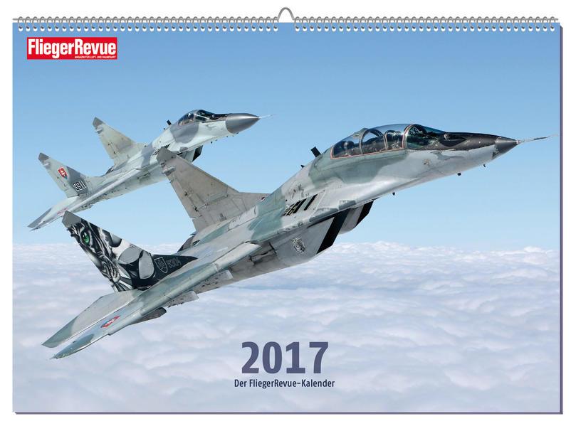 FliegerRevue Kalender 2017 - Coverbild