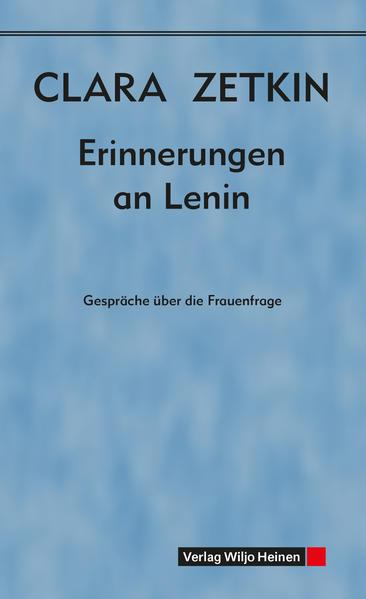 Erinnerungen an Lenin - Coverbild