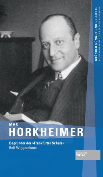 Max Horkheimer - Coverbild