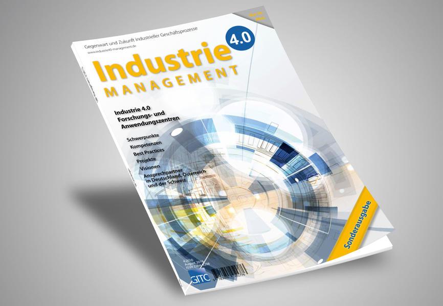 Industrie 4.0 Management 4/2016 - Coverbild