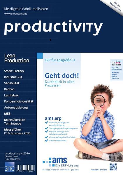 productivITy 4/2016 - Coverbild