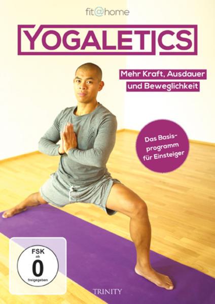 fit@home - Yogaletics - Das Basisprogramm für Einsteiger - Coverbild
