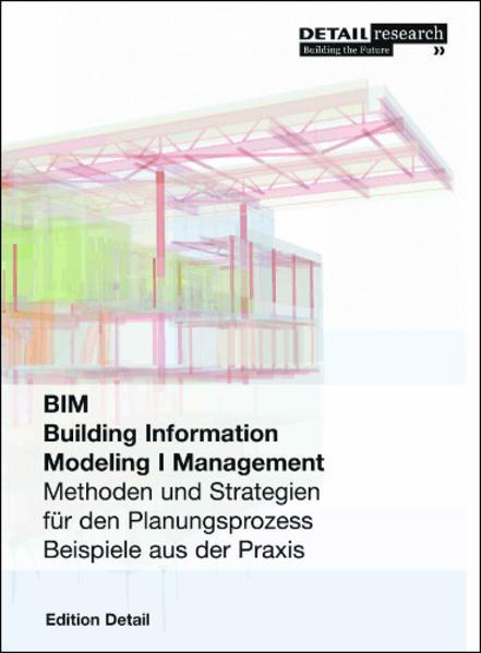 BIM Building Information Modeling I Management - Coverbild