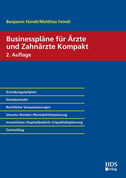 Businesspläne für Ärzte und Zahnärzte Kompakt - Coverbild
