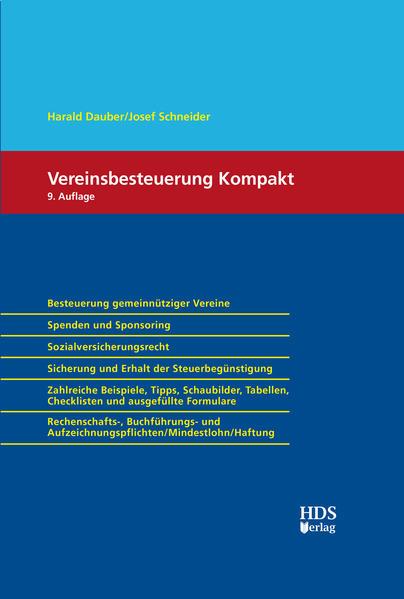 Vereinsbesteuerung Kompakt - Coverbild