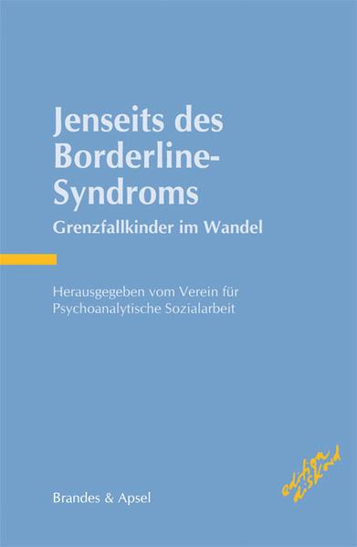 Jenseits des Borderline-Syndroms - Coverbild