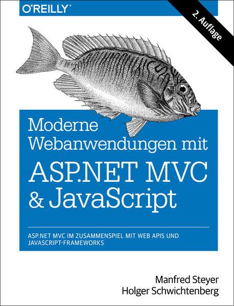 Moderne Webanwendungen mit ASP.NET MVC und JavaScript - Coverbild
