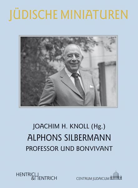 Alphons Silbermann - Coverbild
