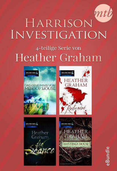 Harrison Investigation - 4-teilige Serie von Heather Graham - Coverbild