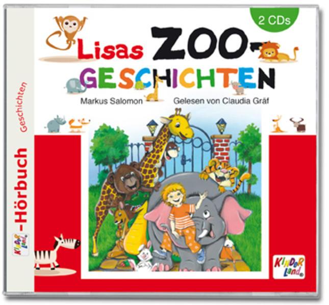 Lisas Zoogeschichten 2CD - Coverbild