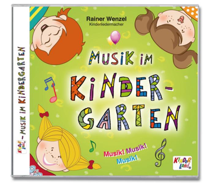 Musik im Kindergarten 1CD - Coverbild