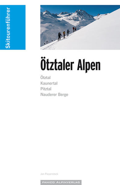 Skitourenführer Ötztaler Alpen - Coverbild