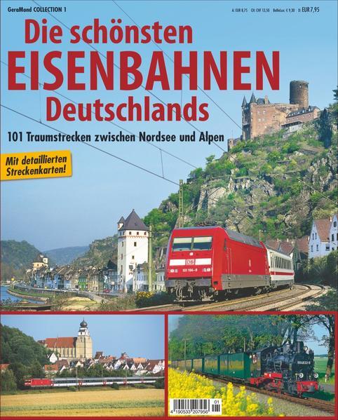 Die schönsten Eisenbahnen Deutschlands - Coverbild
