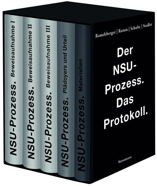 Der NSU Prozess - Coverbild