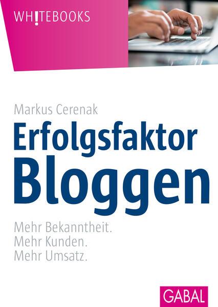Erfolgsfaktor Bloggen - Coverbild