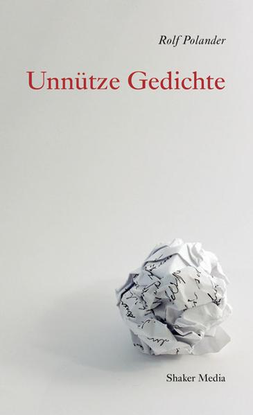 Unnütze Gedichte - Coverbild