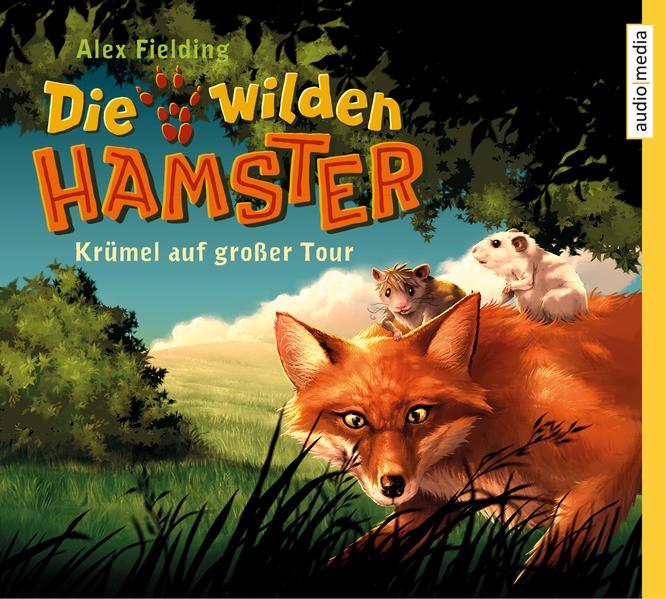 Die wilden Hamster. Krümel auf großer Tour - Coverbild