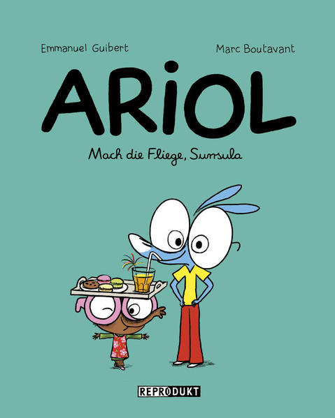 Ariol 5 – Mach die Fliege, Surrsula - Coverbild