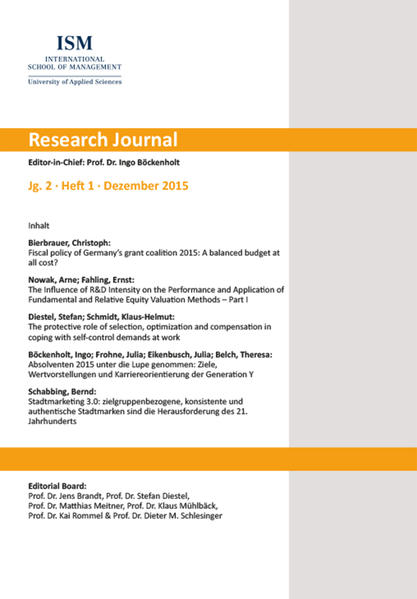 Research Journal - Coverbild