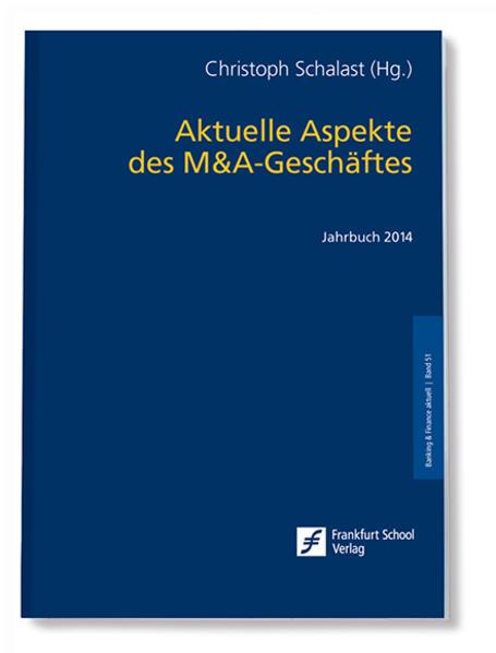 Aktuelle Aspekte des M&A-Geschäftes - Coverbild