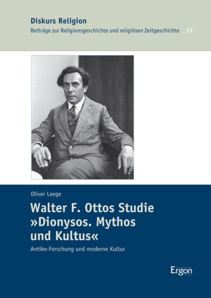 "Walter F. Ottos Studie ""Dionysos. Mythos und Kultus"" - Coverbild"