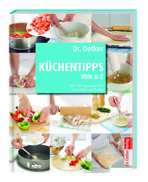 Dr. Oetker - Küchentipps von A-Z - Coverbild