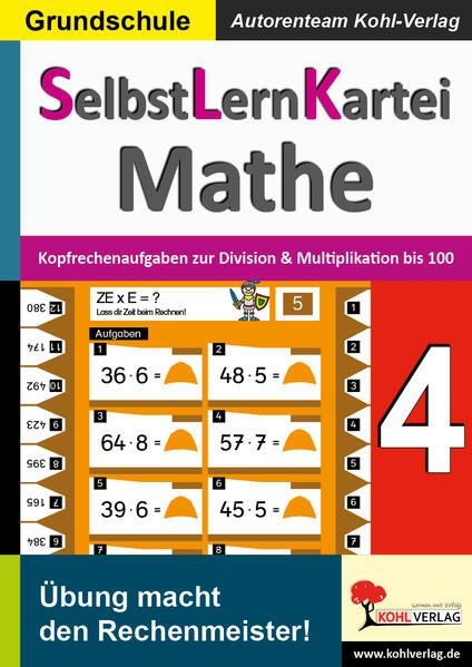 SelbstLernKartei Mathematik 4 - Coverbild